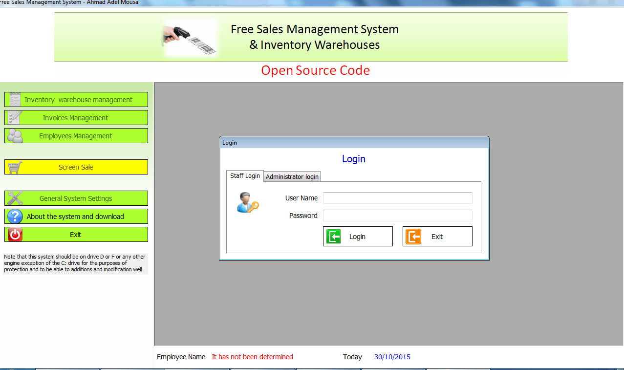 Free Open Source Code For Point Of Sale System